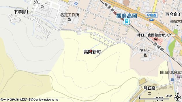 〒670-0062 兵庫県姫路市高岡新町の地図