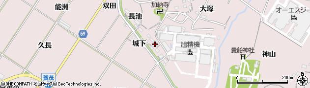 愛知県豊橋市賀茂町(天神前)周辺の地図