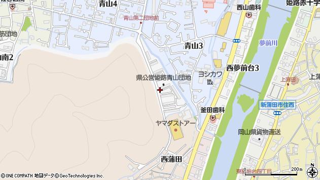 〒671-2223 兵庫県姫路市青山南の地図