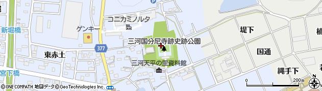 愛知県豊川市八幡町(忍地)周辺の地図