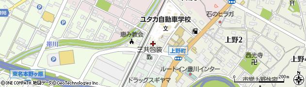 K&K周辺の地図