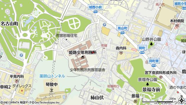 〒670-0028 兵庫県姫路市岩端町の地図