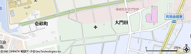 愛知県武豊町(知多郡)大門田周辺の地図
