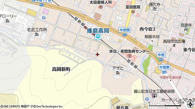 〒670-0061 兵庫県姫路市西今宿の地図