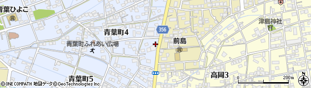 あたぼう周辺の地図
