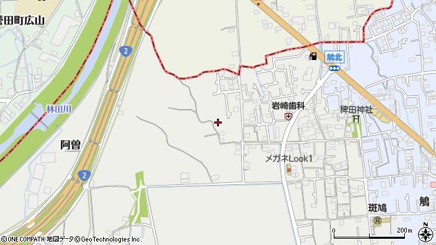 〒671-1551 兵庫県揖保郡太子町馬場の地図