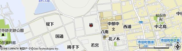 愛知県豊川市野口町(楠)周辺の地図