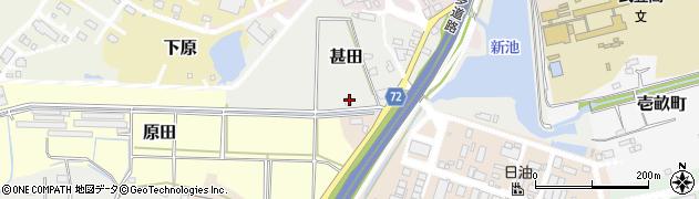 味波武豊店周辺の地図