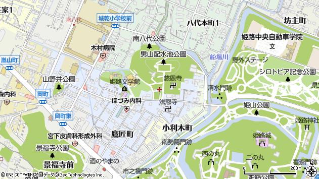 〒670-0021 兵庫県姫路市山野井町の地図