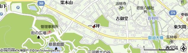 愛知県豊川市御油町(一ノ坪)周辺の地図