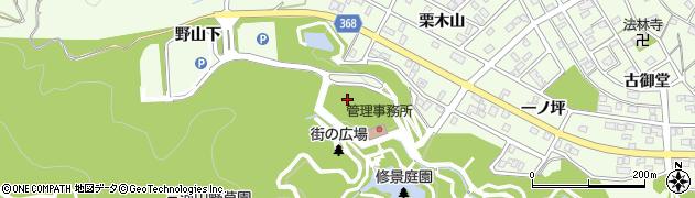 愛知県豊川市御油町(遠見山)周辺の地図