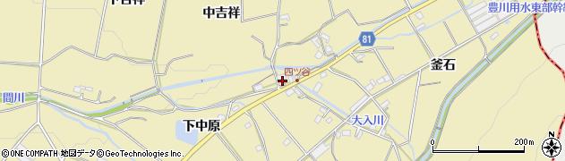 愛知県豊橋市石巻萩平町(中吉祥)周辺の地図