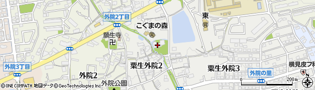 帝釈寺周辺の地図