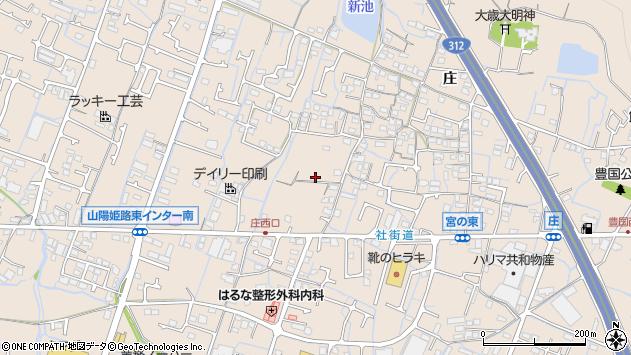 〒671-0218 兵庫県姫路市飾東町庄の地図