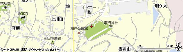 愛知県西尾市吉良町瀬戸(宮西)周辺の地図