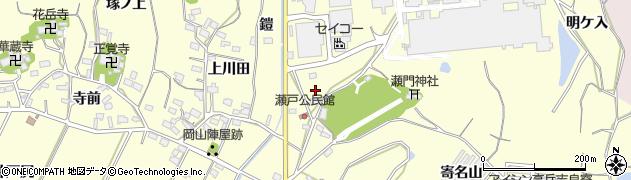 愛知県西尾市吉良町瀬戸(寺下)周辺の地図