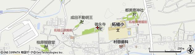徳永寺周辺の地図