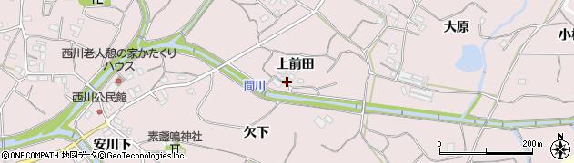 愛知県豊橋市石巻西川町(上前田)周辺の地図
