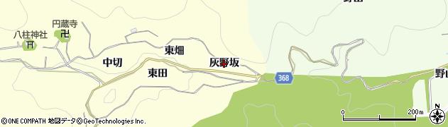 愛知県豊川市御津町金野(灰野坂)周辺の地図