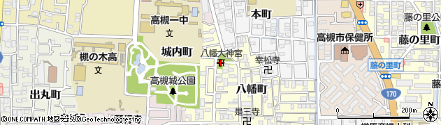 八幡大神宮周辺の地図