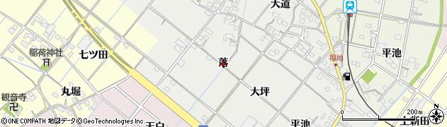愛知県西尾市菱池町(落)周辺の地図