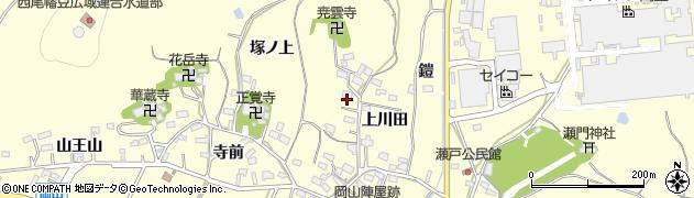 愛知県西尾市吉良町岡山(宮下)周辺の地図