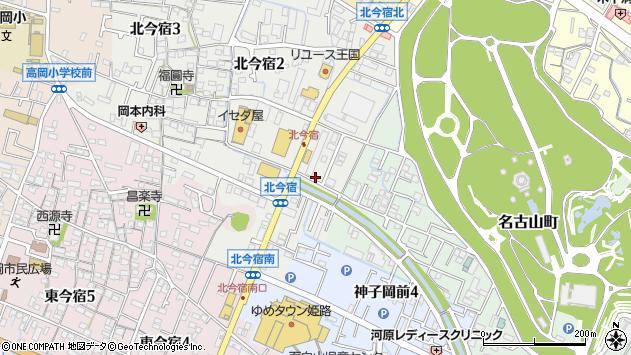 〒670-0057 兵庫県姫路市北今宿の地図