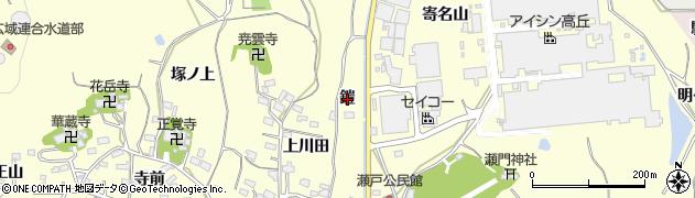 愛知県西尾市吉良町岡山(鎧)周辺の地図