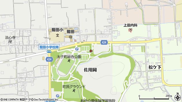 〒671-1575 兵庫県揖保郡太子町佐用岡の地図