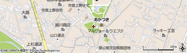 定額寺周辺の地図