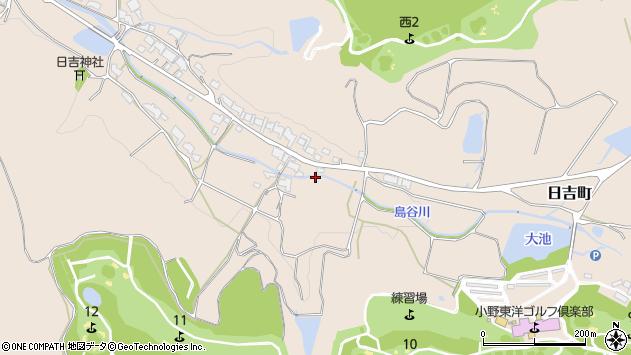 〒675-1315 兵庫県小野市日吉町の地図