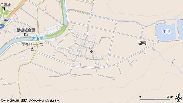 〒671-0211 兵庫県姫路市飾東町塩崎の地図