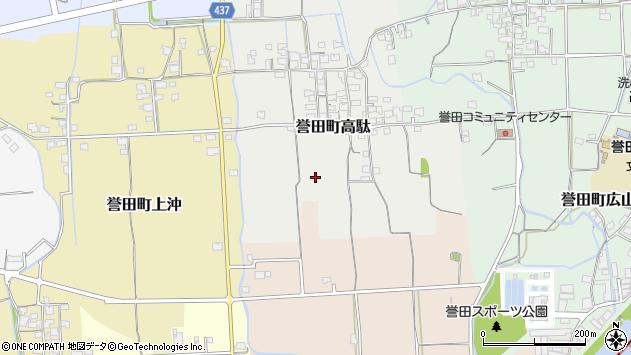 〒679-4135 兵庫県たつの市誉田町高駄の地図