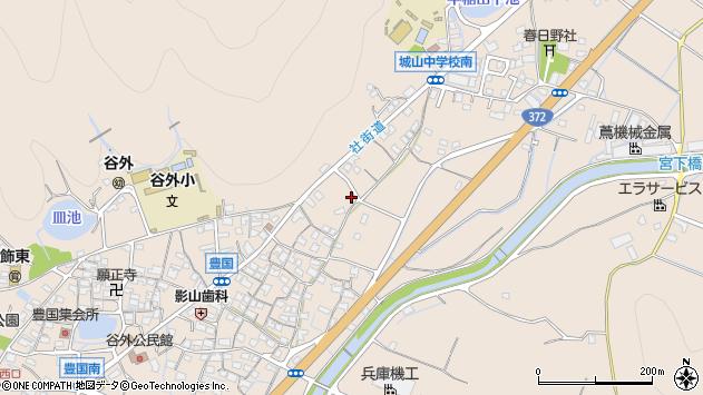 〒671-0219 兵庫県姫路市飾東町豊国の地図