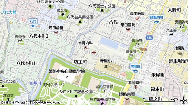 〒670-0011 兵庫県姫路市坊主町の地図