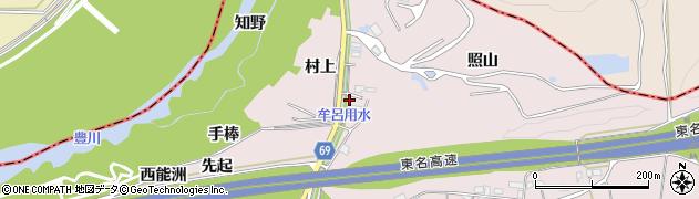愛知県豊橋市賀茂町(村上)周辺の地図
