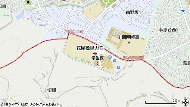 〒666-0162 兵庫県宝塚市花屋敷緑ガ丘の地図