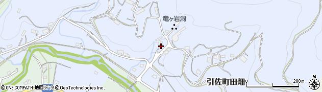 静岡県浜松市北区引佐町田畑周辺の地図
