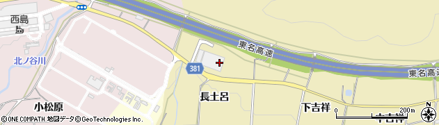愛知県豊橋市石巻萩平町(長土呂)周辺の地図