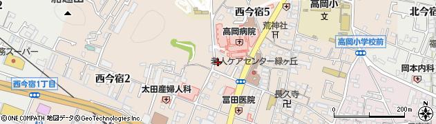 兵庫県姫路市西今宿周辺の地図