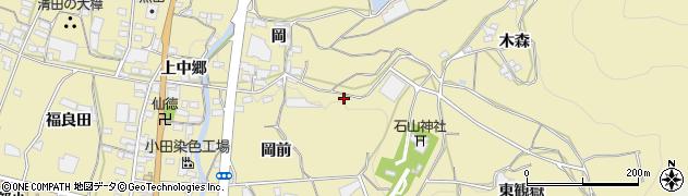 愛知県蒲郡市清田町周辺の地図