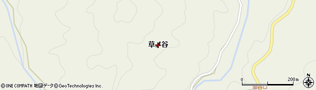 島根県浜田市旭町今市(草ノ谷)周辺の地図