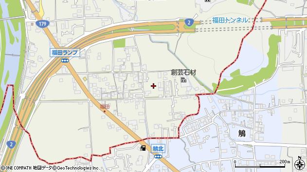 〒679-4132 兵庫県たつの市誉田町福田の地図