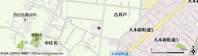 愛知県豊川市篠田町(石橋)周辺の地図