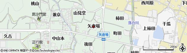 愛知県蒲郡市神ノ郷町(矢倉場)周辺の地図