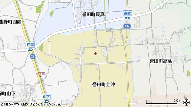 〒679-4139 兵庫県たつの市誉田町上沖の地図