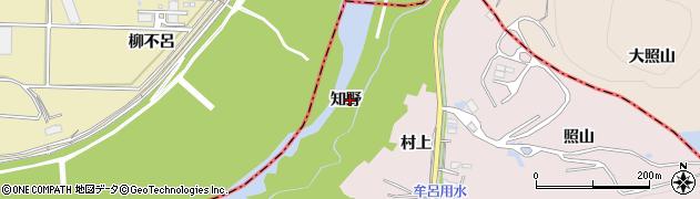 愛知県豊橋市賀茂町(知野)周辺の地図