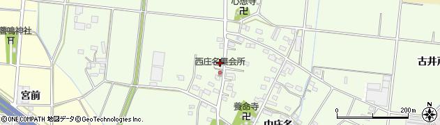 愛知県豊川市篠田町(下川)周辺の地図