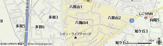 愛知県武豊町(知多郡)六貫山周辺の地図