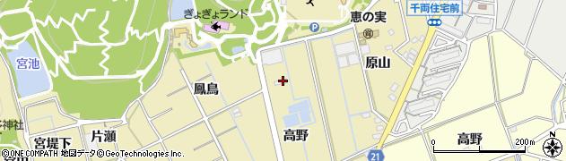 キッチン亀田周辺の地図
